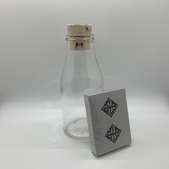 Impossible Bottle of Confessions Playing Cards with Cellophane