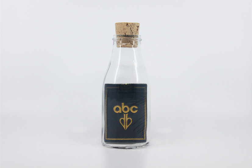 Impossible Bottle of ABC Deck Playing Cards with Cellophane
