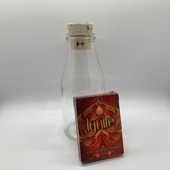 Impossible Bottle of Ignite Playing Cards with Cellophane