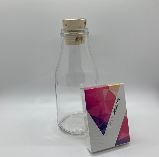 Impossible Bottle of Red Art of Cardistry Playing Cards with Cellophane