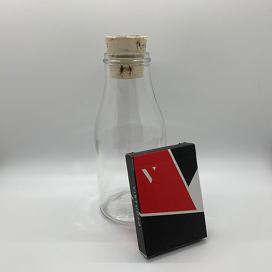 Impossible Bottle of Virtuoso Launch Edition SS13 Playing Cards with Cellophane