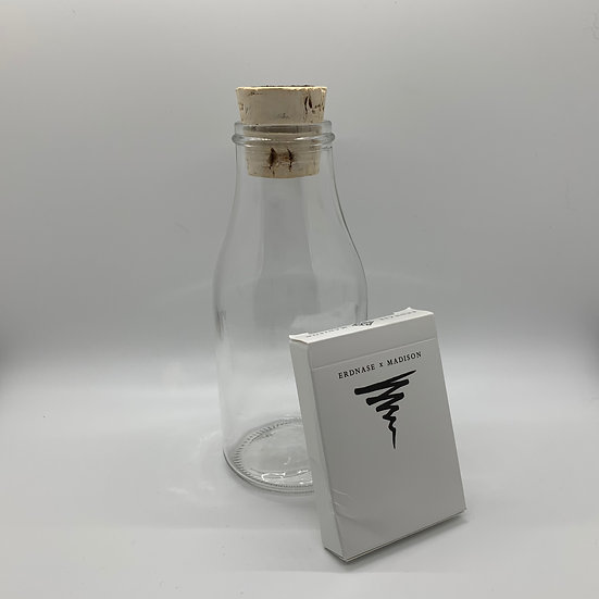 Impossible Bottle of Erdnase x Madison Playing Cards with Cellophane
