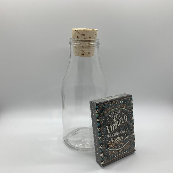 Impossible Bottle of Voyager Playing Cards with Cellophane
