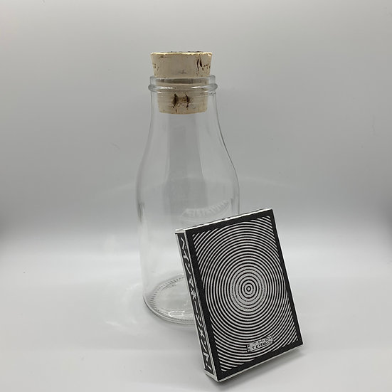 Impossible Bottle of Headlong into Eternity Playing Cards with Cellophane