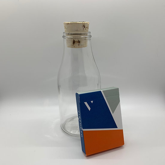 Impossible Bottle of Virtuoso SS14 Playing Cards with Cellophane
