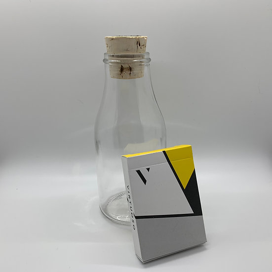 Impossible Bottle of Virtuoso SS16 Playing Cards with Cellophane