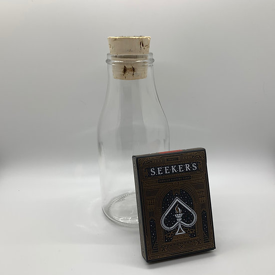 Impossible Bottle of Seekers Playing Cards with Cellophane