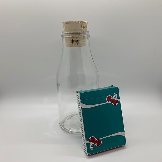 Impossible Bottle of Cherry Casino V3 Playing Cards with Cellophane