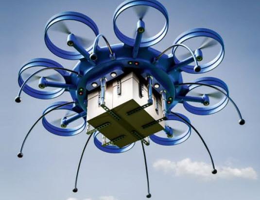 Drohnen für die Industrie - Zukunftsvision oder Spinnerei?