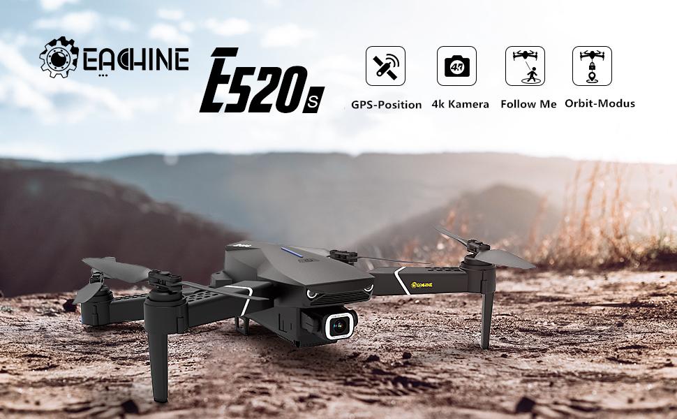 EACHINE E520S GPS-Drohne mit 4k HD Kamera