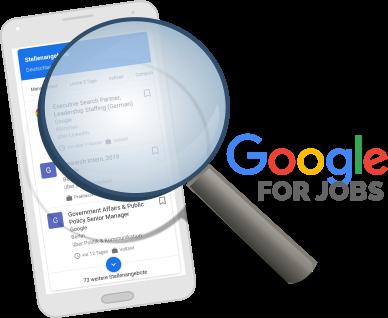Google for Jobs ist gerade in aller Munde ...