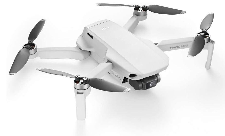 DJI Mavic Mini – Drohne, leicht und tragbar jetzt bei Amazon bestellen