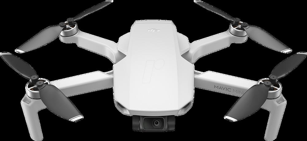 DJI Mavic Pro Quadcopter Drohne mit Kamera, platinum