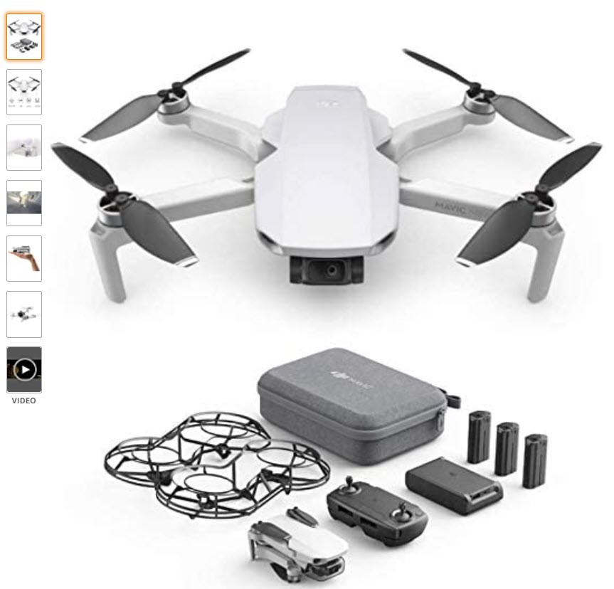 DJI Mavic Mini Fly More Combo (EU) – Drohne und Zubehör Kit