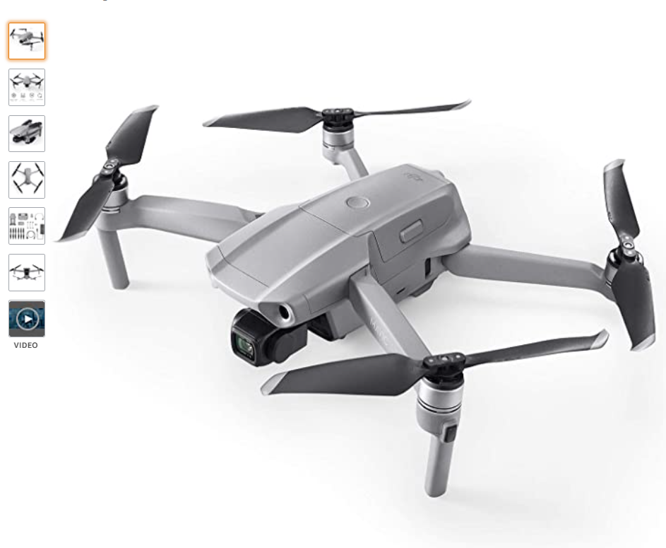 DJI Mavic Air 2 – Drohne mit 4K Video-Kamera in Ultra HD