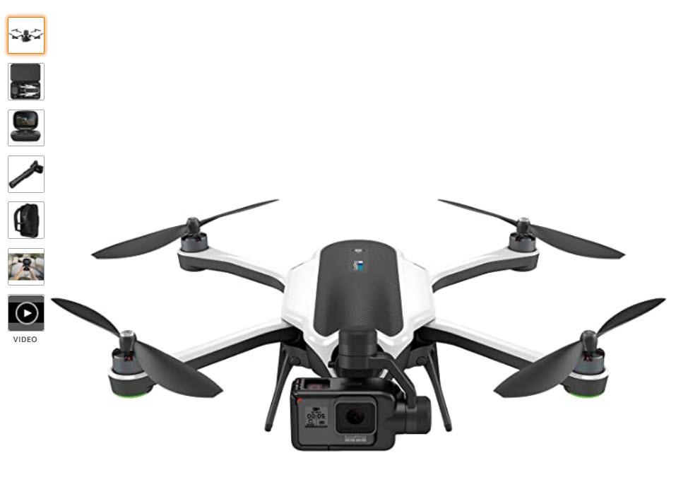 GoPro Karma Drohne mit HERO5 Black