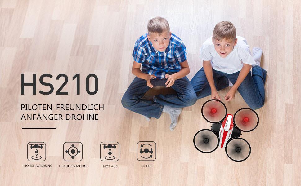 Hobby- oder Spielzeugdrohnen: Bei den günstigen Modellen bis 200 Euro geht es vor allem um den Spaß am Fliegen