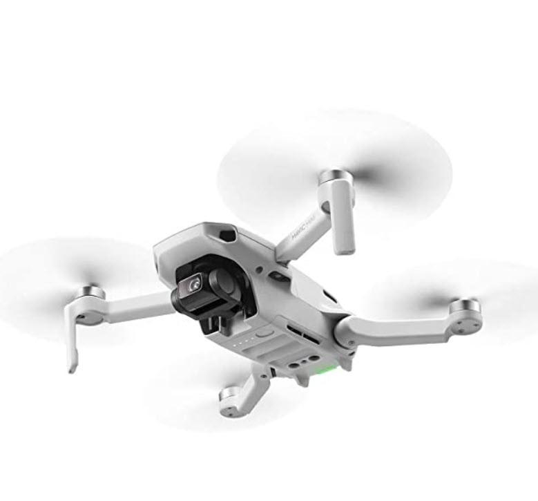 Drohne oder Optocopter fuer Landschaftsbilder im Urlaub