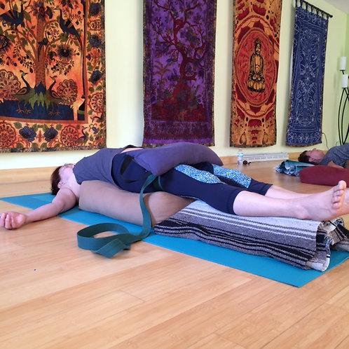 restorative yoga  aromatherapy  info