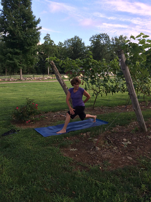YOGA IN THE VINES