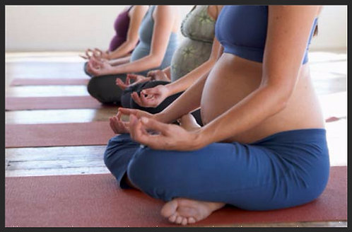 PRENATAL YOGA - Sundays/Weekly - 4 Class Card