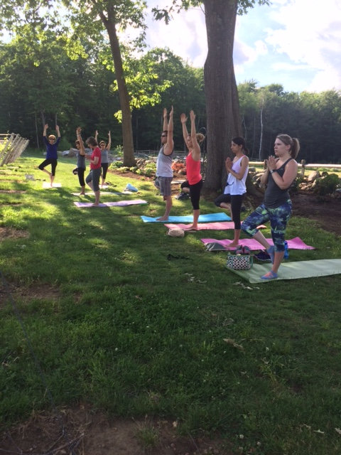 Outdoor Morning Yoga w/ Kathy
