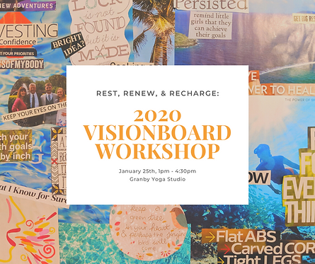 YOGA & VISIONBOARD WORKSHOP
