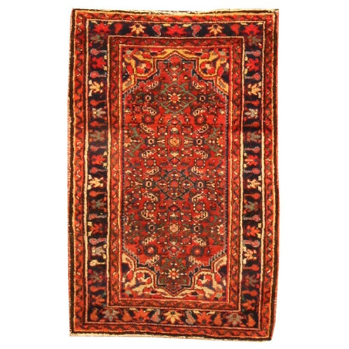 "Antique Hamadan - 2'6""x3'11"""
