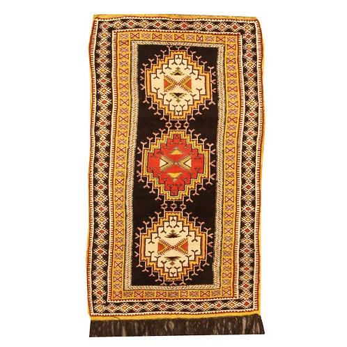 "Antique Moroccan - 3'10""x6'6"""