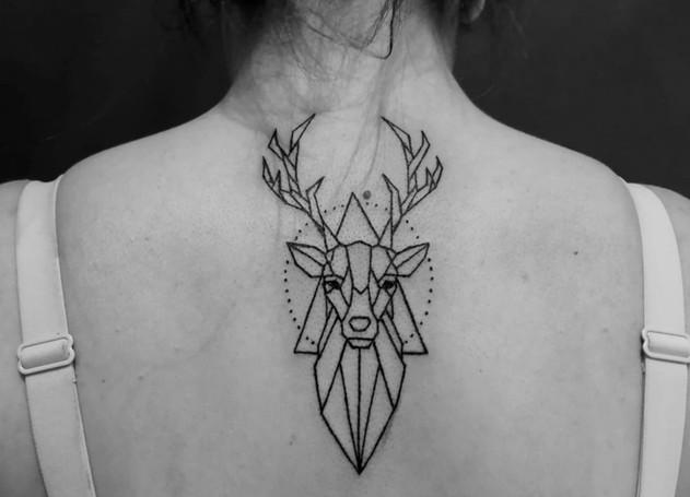 Tatuaggio Alce americano