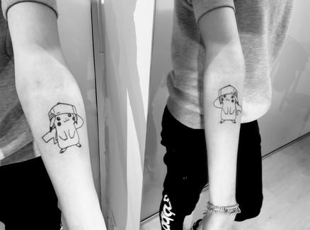 Tatuaggio Pikachu