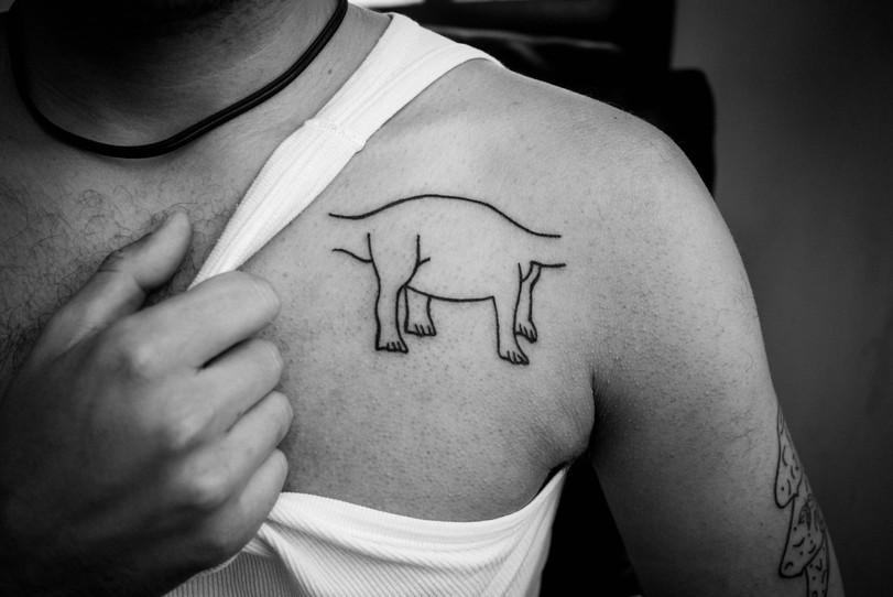 Tatuaggio Dino