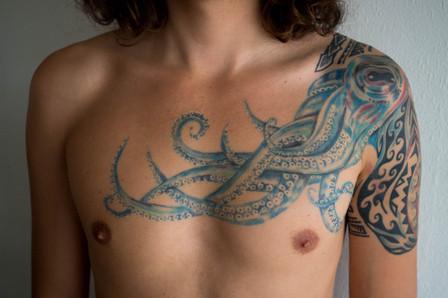 Polipo tatuaggio