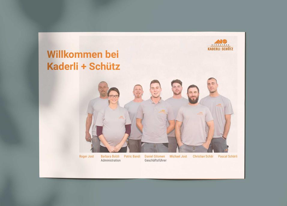 Flyer Kaderloi + Schütz AG