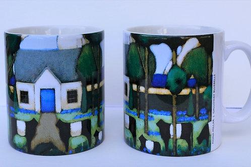 'Galloway Bluebells' Ceramic Mug