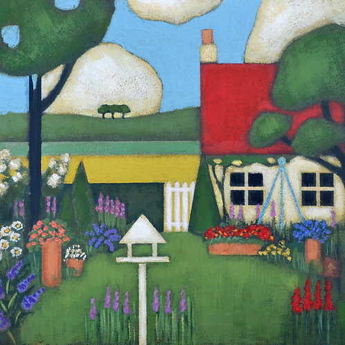 'Garden by the Sea' Signed Giclée Print