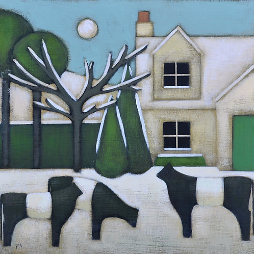 'Galloway Winter Cottage' Signed Giclée Print