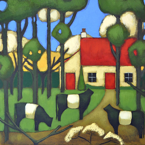 'Little House in the Woods' Signed Giclée Print