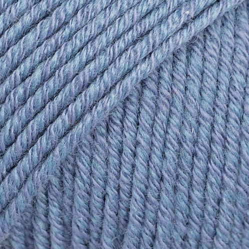 cotton merino TRAPER PLAVA