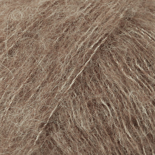 brushed alpaca silk BEŽ