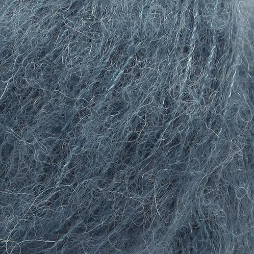 brushed alpaca silk ČELIČNO PLAVA