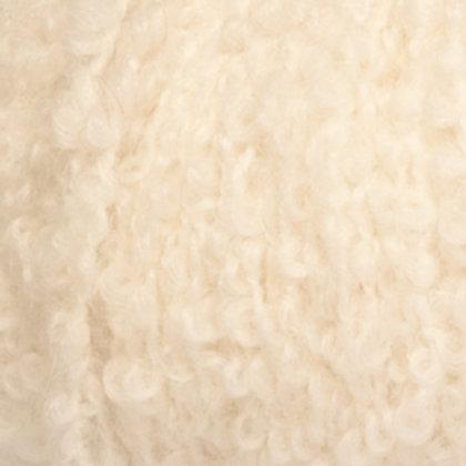 alpaca bouclé PRIRODNO BIJELA