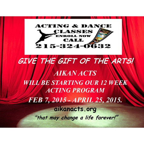 Enroll in Acting Classes Now!