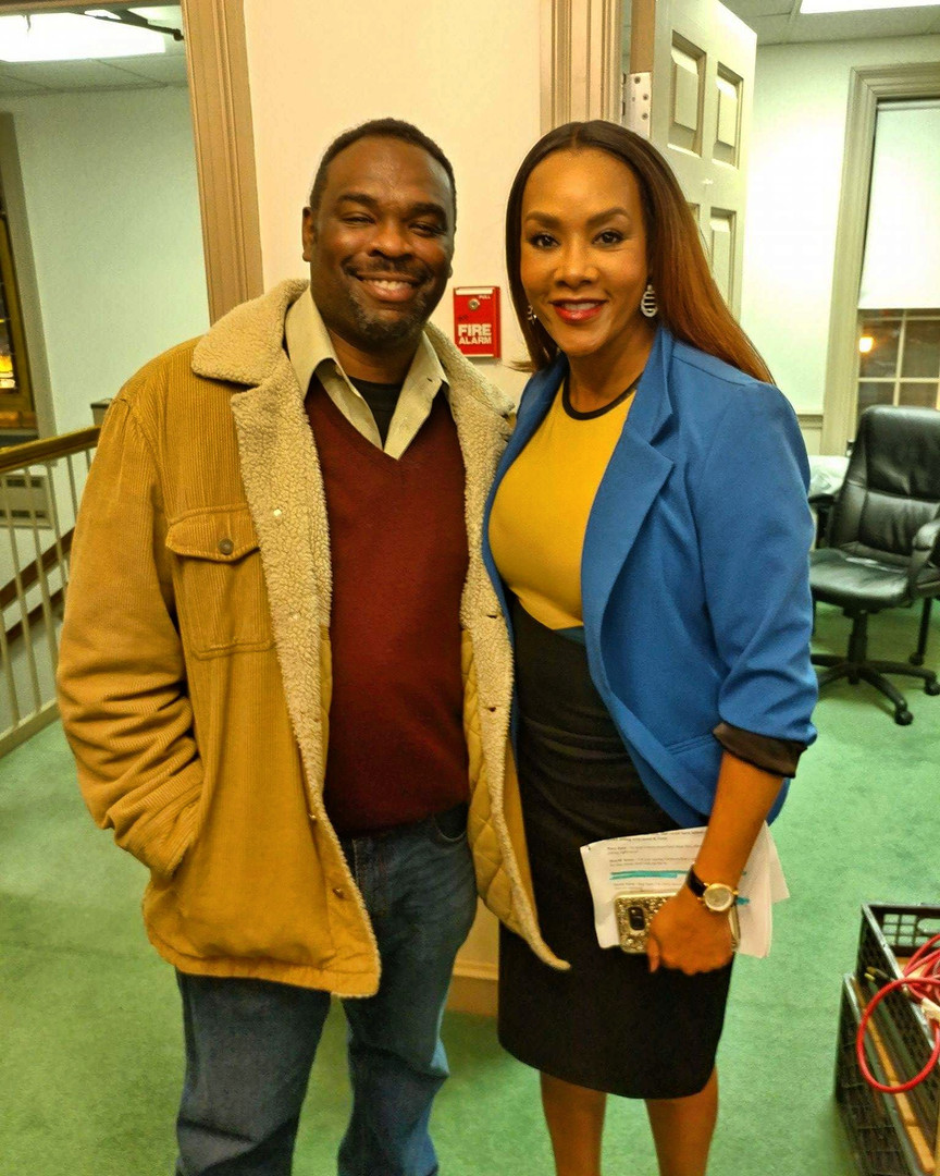 Nakia Dillard and Vivica A. Fox