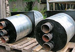 Фасонные детали изолированных ППУ трубопроводов