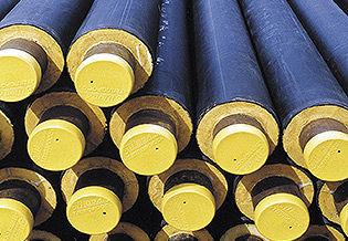 стальные трубы в ППУ-изоляции