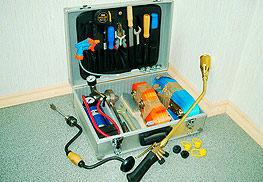 Инструмент для монтажа термоусаживающихся муфт
