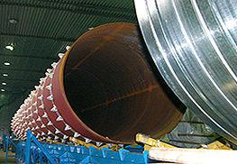 ТВЭЛ-Теплоросс. Сборка труб ППУ большого диаметра