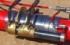 надвинуть инструментом гильзу на фитинг на конце второй присоединяемой трубы