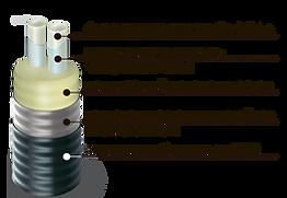 Схема ТВЭЛ-ПЭКС, трубы в ППУ-изоляции